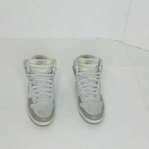 Nike Dunk Sky Hi High Suede Pale Gray Wedge